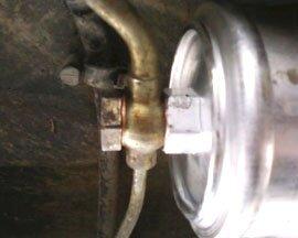 Замена топливного фильтра мерседес 124