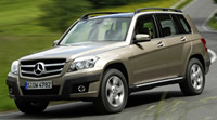 Mercedes GLK 320CDI Off-road Package X204 (2008-2012)