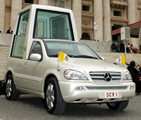 Mercedes-Benz ML430 Popemobile W163 (2002)
