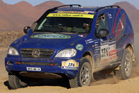 Mercedes-Benz ML430 Lisboa-Dakar W163 (2007)