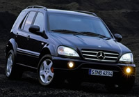 Mercedes-Benz ML55 AMG W163 (2000–2003)