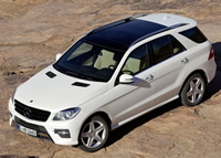 Mercedes-Benz ML250 BlueTec с пакетом AMG Sports W166 (2011–н.в.)