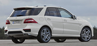 Mercedes-Benz ML63 AMG W166 (2012)