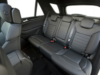 Интерьер Mercedes-Benz ML350 BlueTec W166 (2011–н.в.)