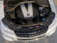 Под капотом Mercedes-Benz ML350 BlueTec W166 (2011–н.в.)