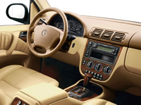 Интерьер Mercedes-Benz M-Klasse W166 (1997–2001)