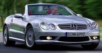 Mercedes-Benz SL55 AMG R230 (2001–2008)