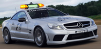 Mercedes-Benz SL63 AMG F1 Safety Car R230 (2008–2009)