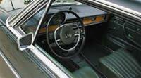 Салон Mercedes W114